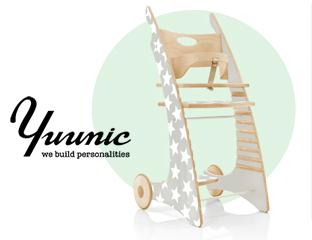 Neu: Yuunic, der neue einzigartige Kinderhochstuhl