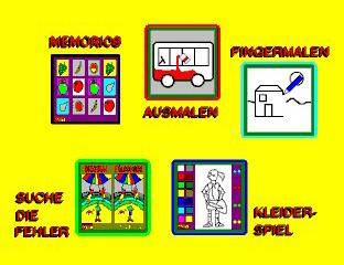 Kinder Software für Touchscreen Produkte