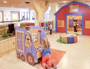 Neu: Gestaltung von Kinderwartezonen
